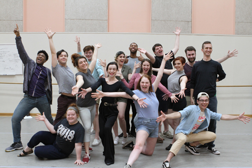 Florida School of the Arts Musical Theatre Vocal Company students.
