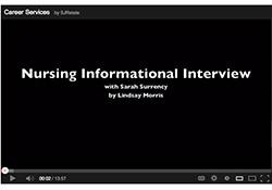 Nursing interview video