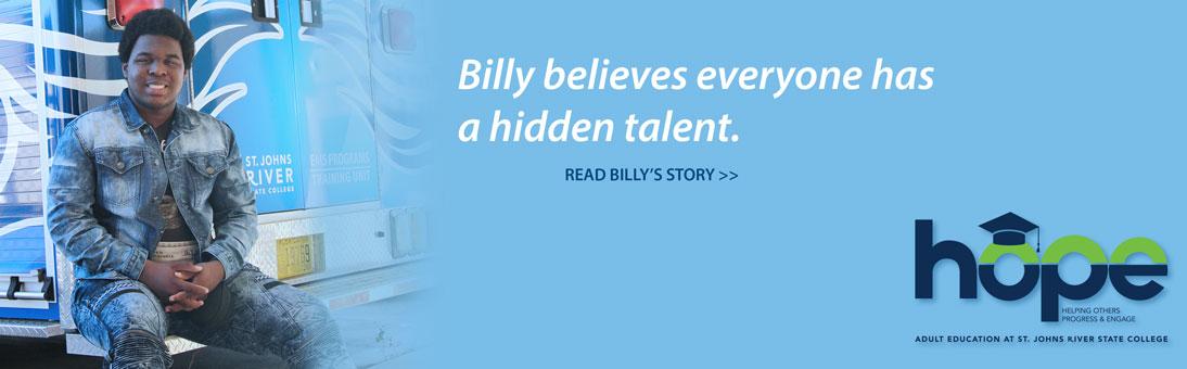choose hope, Billy