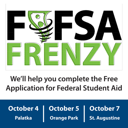 FAFSA Frenzy federal student aid event