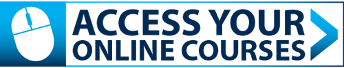 access your online courses icon link