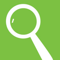 magnifine glass icon