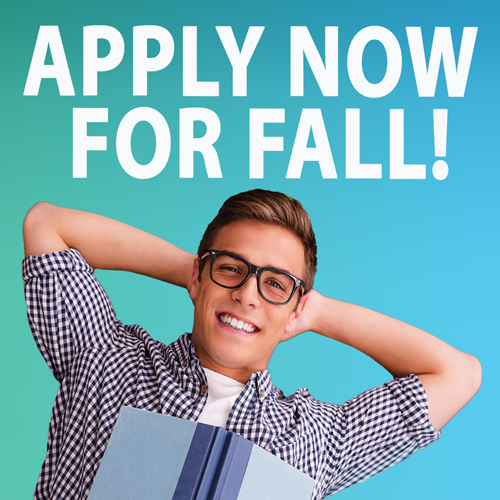 Apply Now for Fall