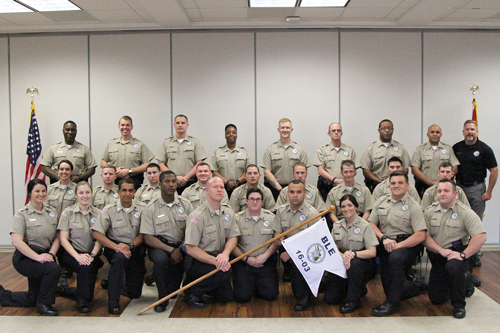 Law enforcement and corrections cadets recognized