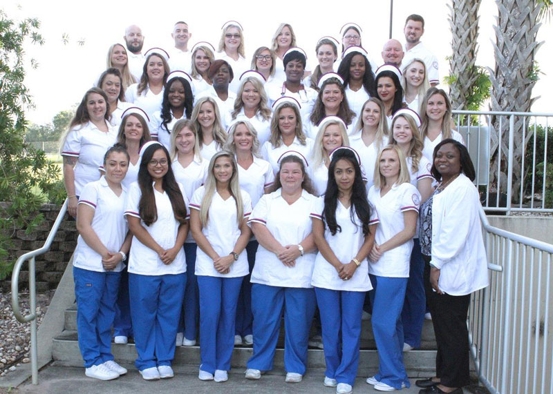 Nursing group photo