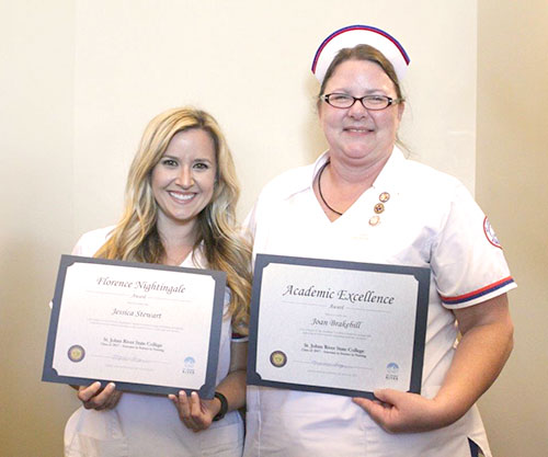 nursing students, awards