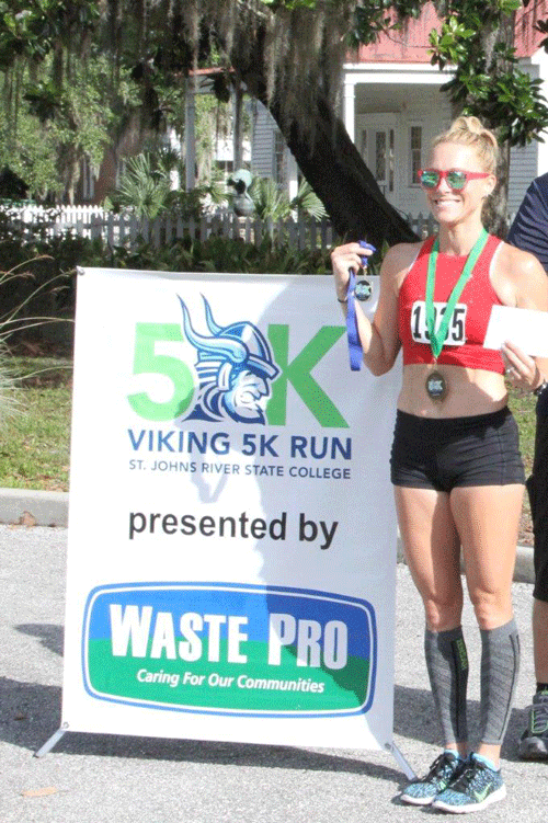 Kelly Brasol was the overall female champion