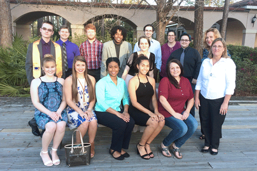 students inducted into St. Augustine campus PTK