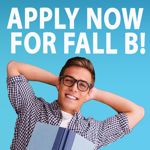 apply for fall B