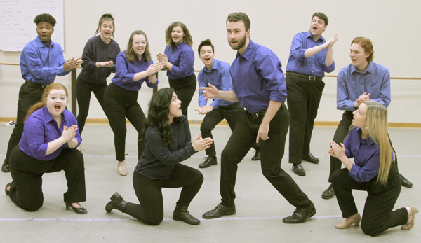 Florida School of the Arts students embrace the spirit of their upcoming Musical Theatre Vocal Company Concert