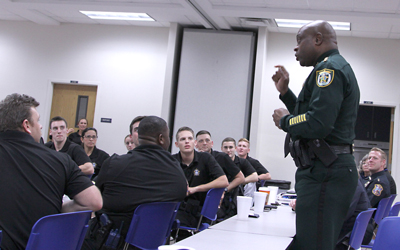 CCSO Director of Services Ricky Wright