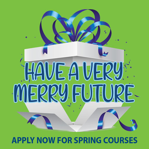 very merry future, apply for spring