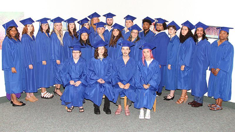 FloArts graduation group photo