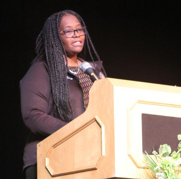 Adult Education guest speaker Roshonda Phillips