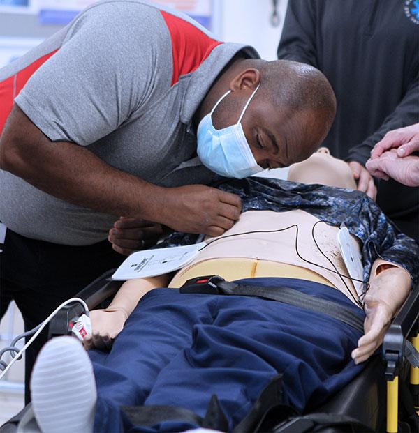 Alfred Jackson II Paramedic spotlight